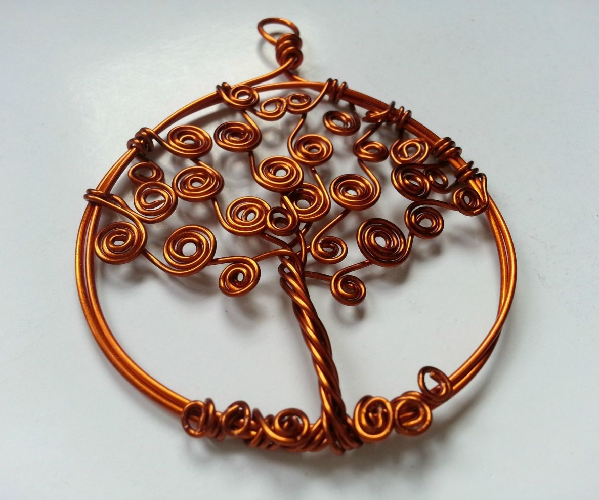 DIY Tree of Life Pendant