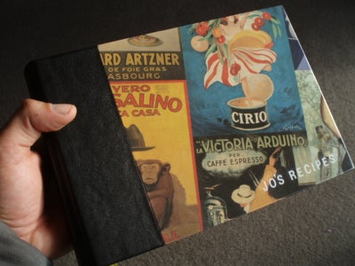 Make a Leather Spined Hardbound Book