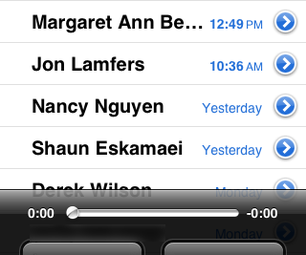 How to Download Voicemail From an IPhone