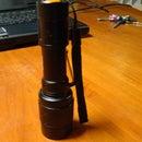 Make a torch from a flashlight