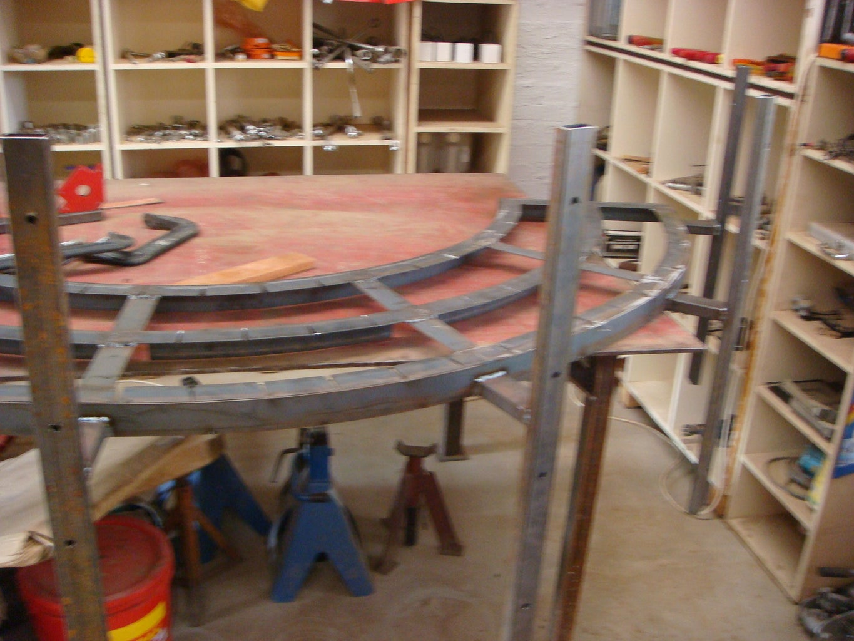 Cantilever Bench