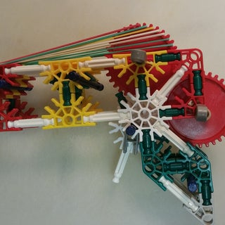 Knex Rubberband Repeater That Uses Gears
