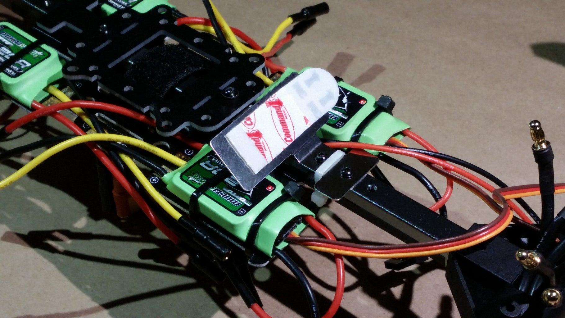 Install DJI LED Indicator