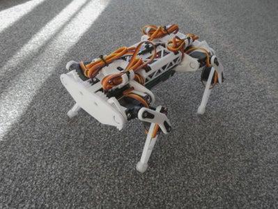 ESP32 Small Robot Dog