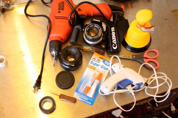 DIY Tilt Shift DSLR Camera Lens