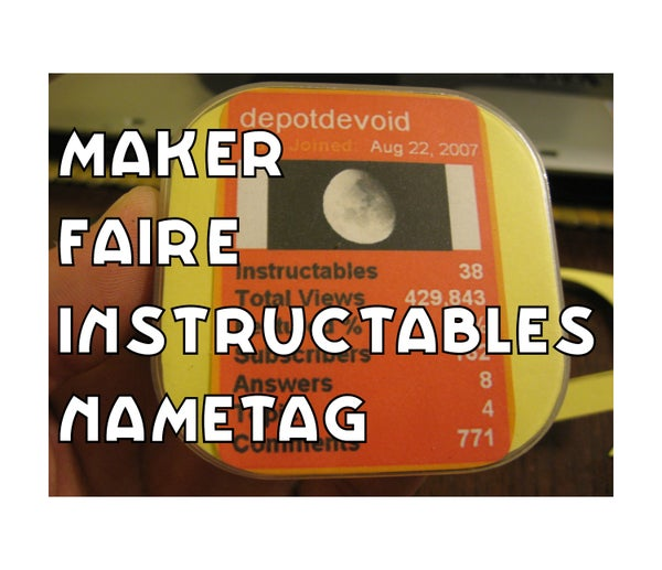 Interactive Instructables Identicard