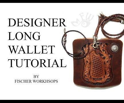 Designer Long Wallet Tutorial