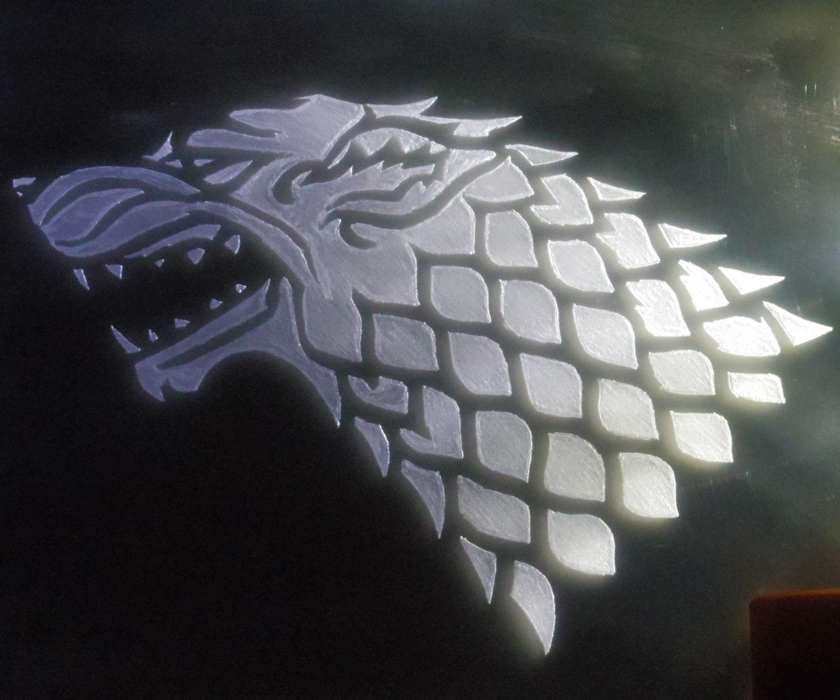 Game of Thrones Led Light Acrylic Base