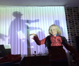 Zombie Infested House (Using Only a Projector!)