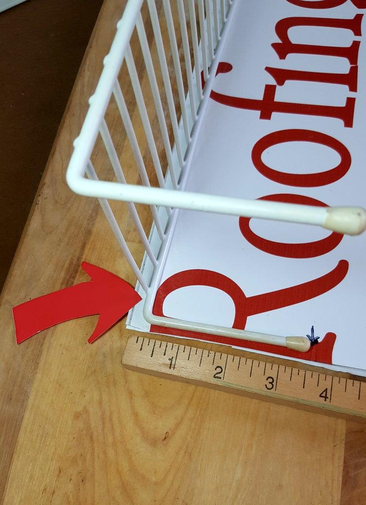Measure and Cut the Plastic Foam Board