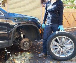 Winter Summer Tire Swap