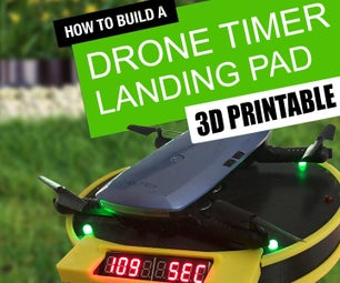 Automatic Drone Lap Timer - 3D Printed, Arduino Powered.