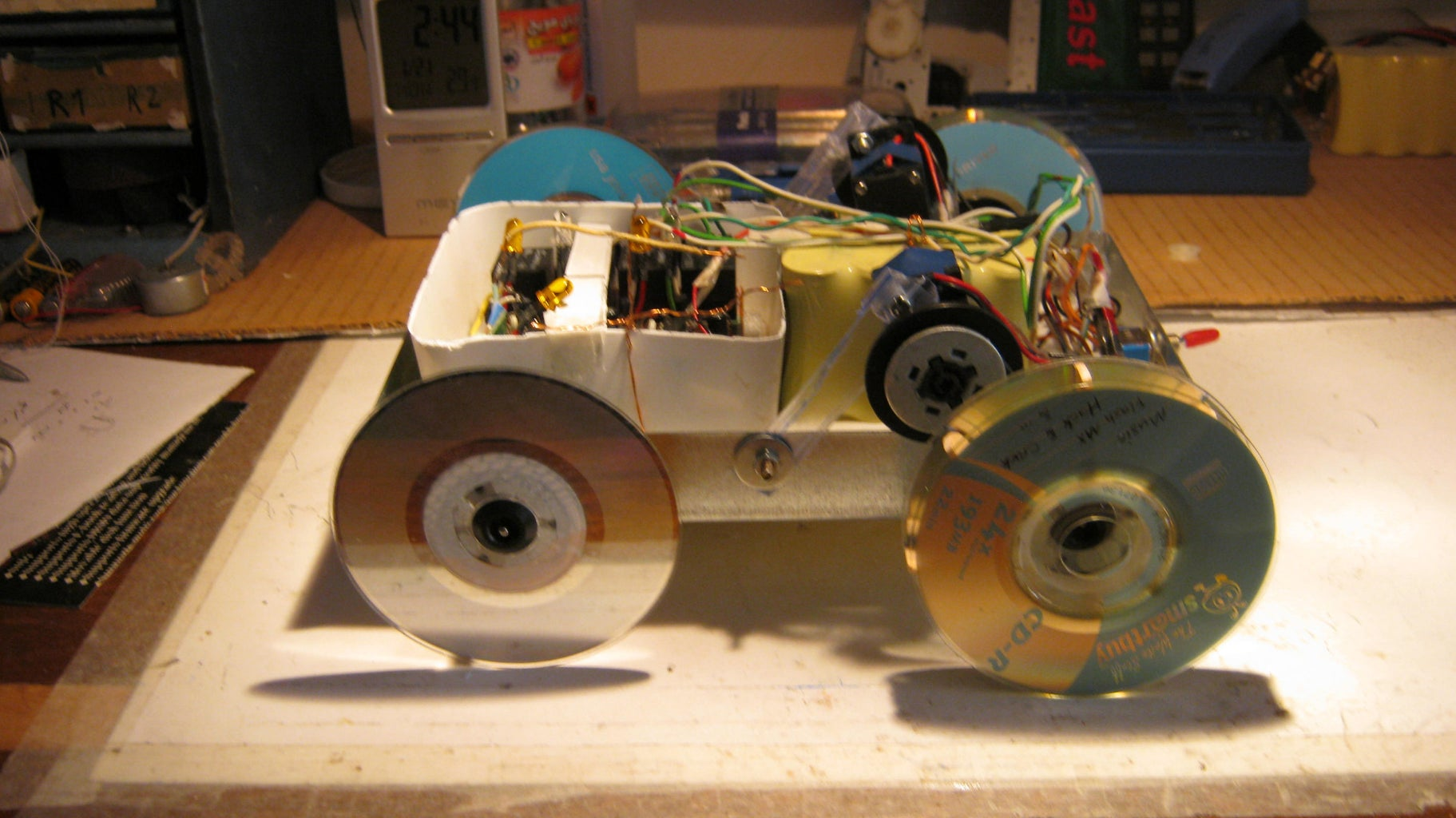 How Made a Car With Video CD