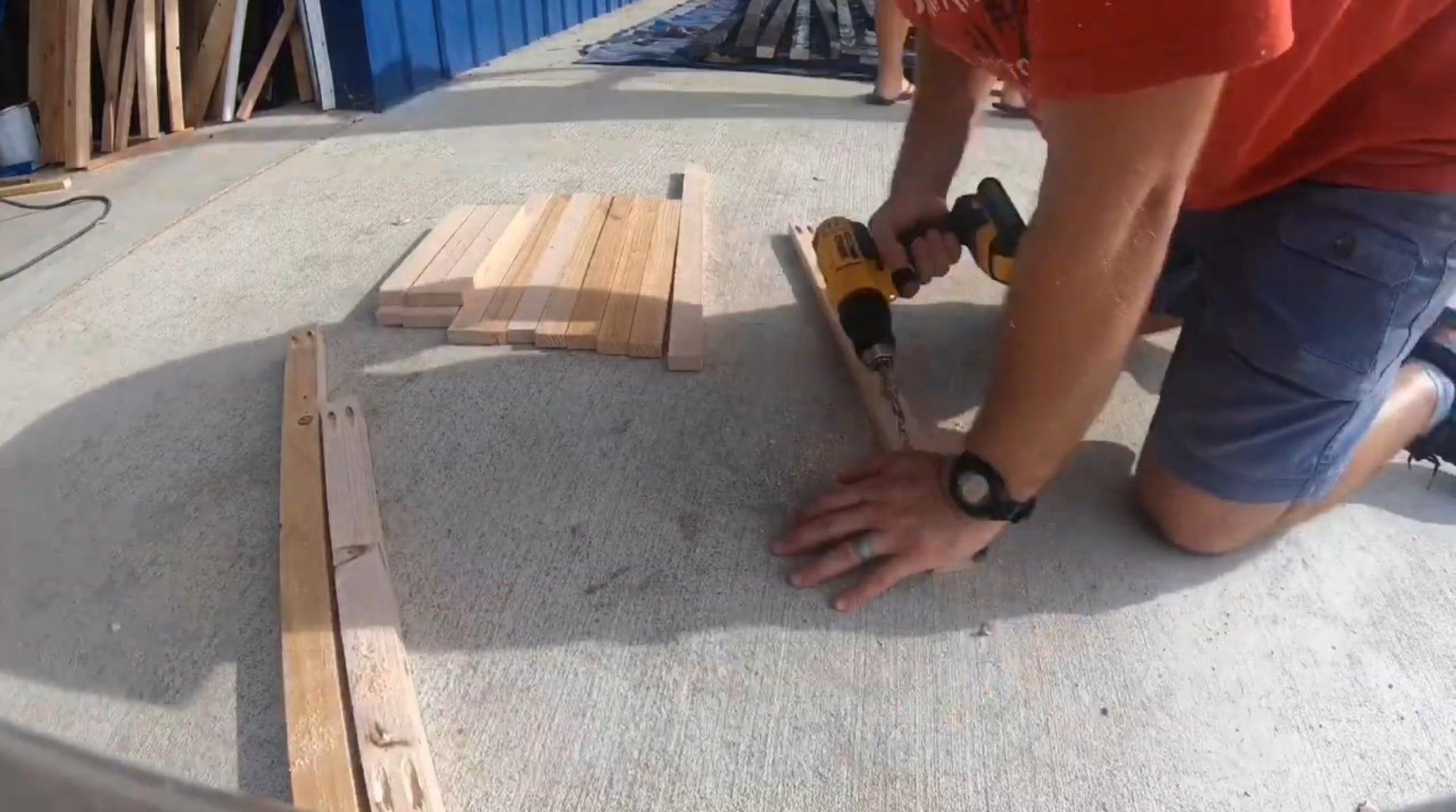 Let's Put Some Pocket Holes in Those Boards