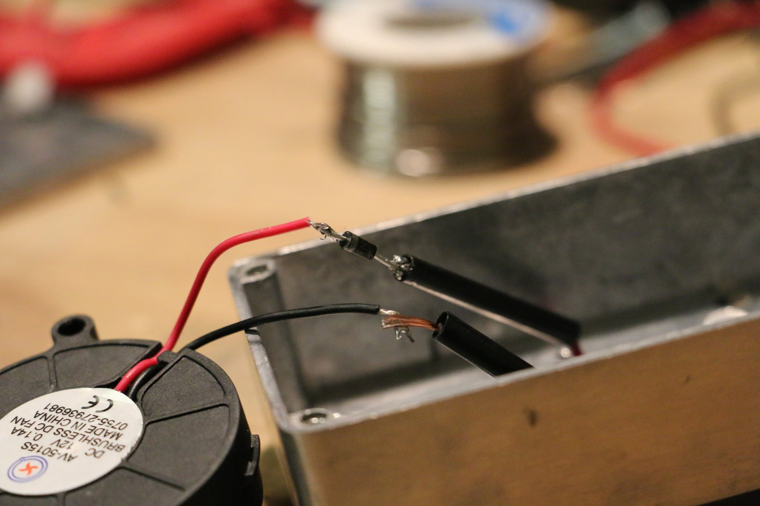 Attaching Thermoelectric Module