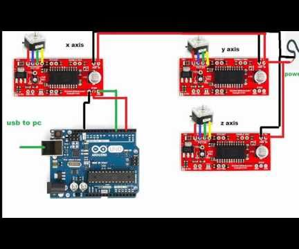 How to wire a arduino cnc easy diy