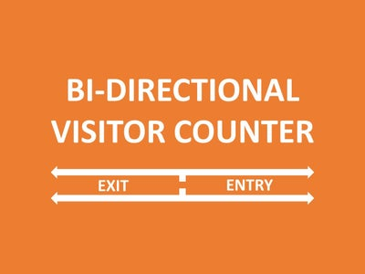 BI - DIRECTIONAL VISITOR COUNTER USING 8051 (AT89S52)