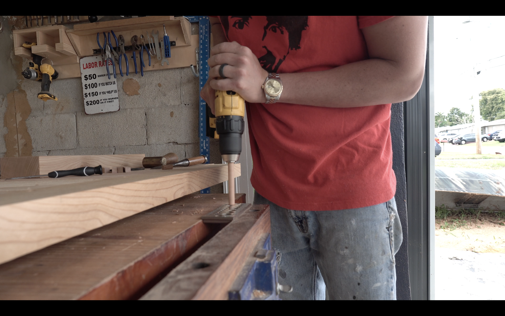 Mounting the Breadboard End