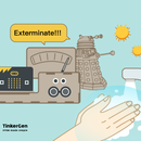 Coronavirus EXTER-MI-NATION With Micro:bit and Daleks