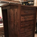 Chest of Drawers With Hidden, Lockable Gun Cabinet