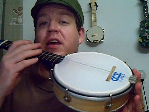 Homemade Banjo Ukulele Project