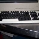 Black and White Keyboard and Mouse Combo