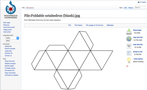 Search for Foldable Geometric Shapes and Interesting DIgital Textures