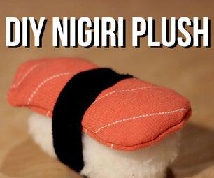 DIY Nigiri Sushi Plush