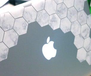 DIY Geometric Laptop/iPhone Decal