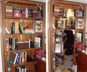 Bookcase Secret Entrance