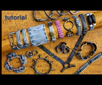 WIKarts: How to Make Belt Loop Bracelets, Necklaces, Rings, & More!