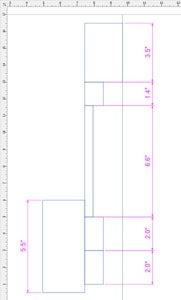 Measure Bottle for Key Dimensions