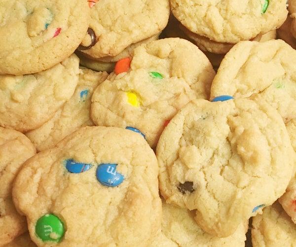 Gluten Free MM Cookies