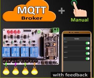 MQTT ESP8266家庭自动化项目2021