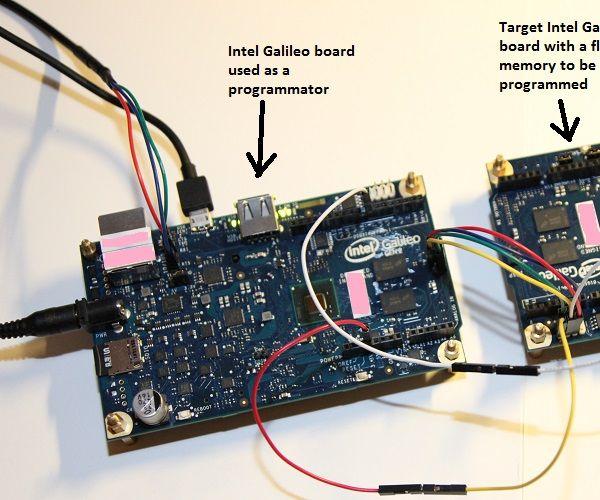 Galiprog for Intel Galileo