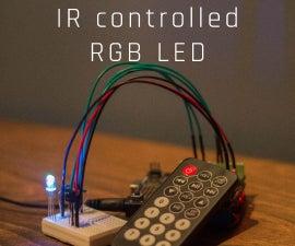 红外控制RGB LED