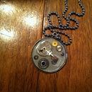 DIY resin/steampunk necklace