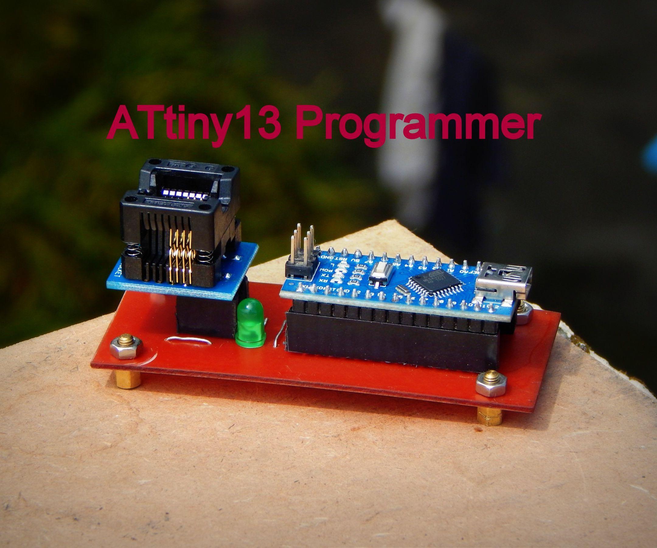 How to Make a Attiny13  Programmer