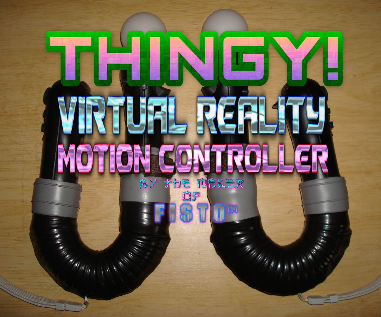 SONY Move 4 PC THINGY! Virtual Reality Motion Controller $15