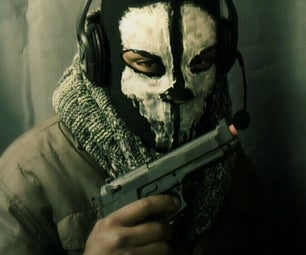 """CALL OF DUTY GHOSTS"" Mask"
