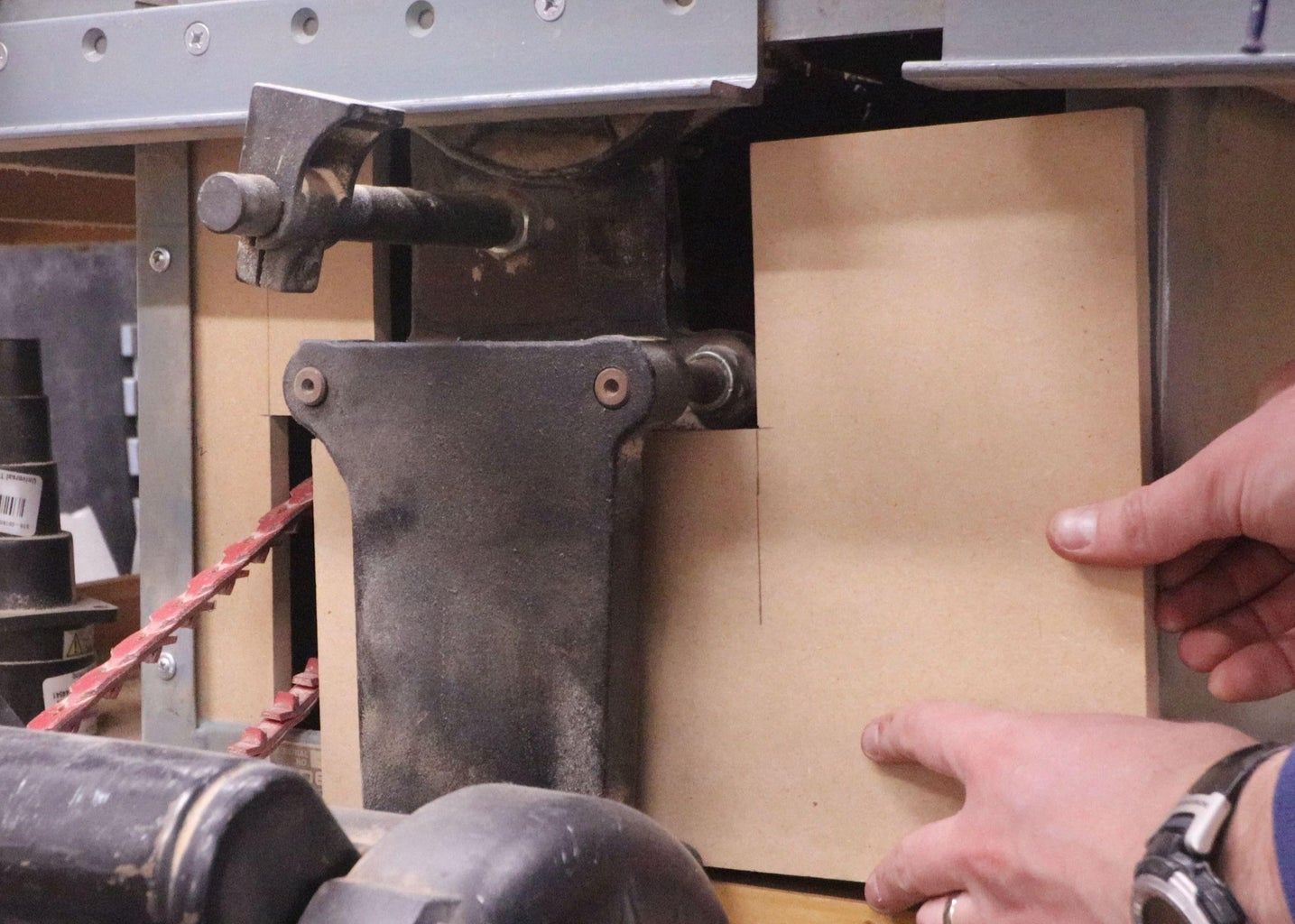 Drill for and Epoxy in Magnets