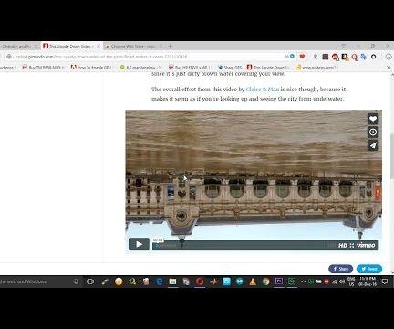 Rotate Upside-down or Skewed Online Videos