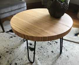 Scrap Plywood Coffee Table