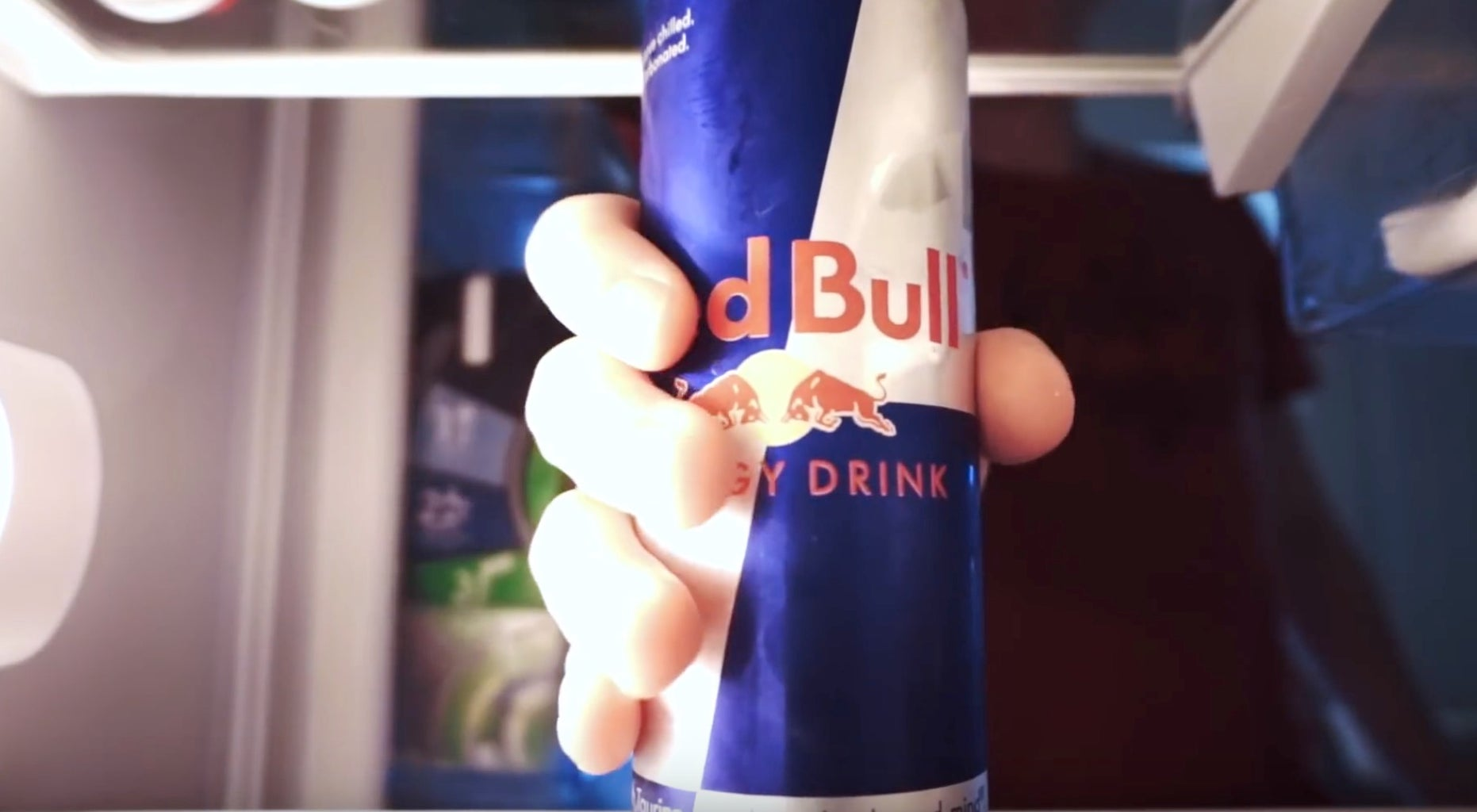 Step 1: Drink Red Bull