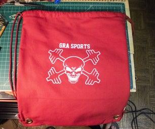 Drawstring Bag With Inner Pocket