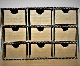 Cardboard Mini Storage