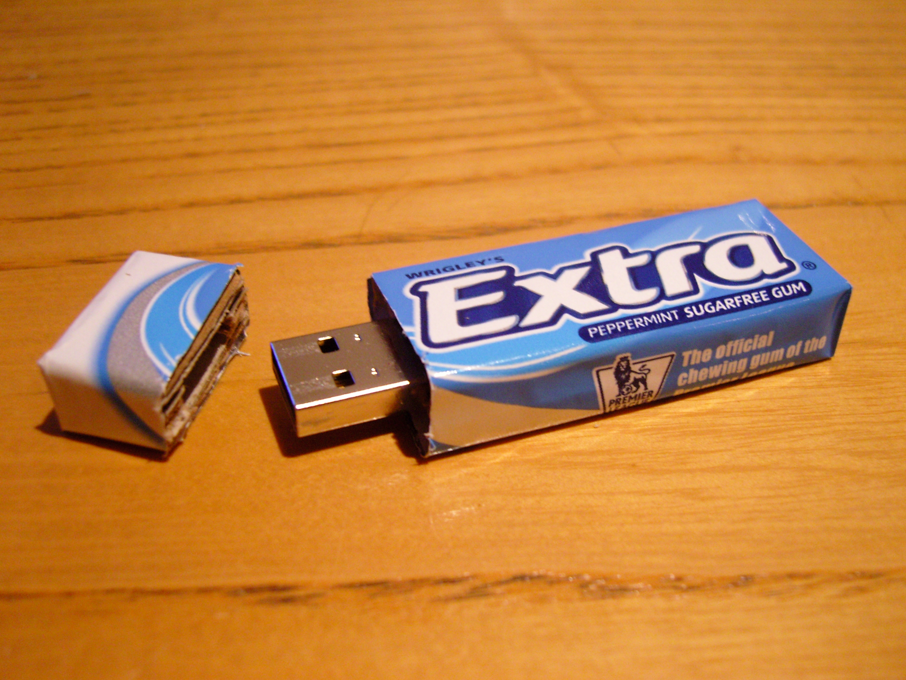 Chewing Gum USB !!
