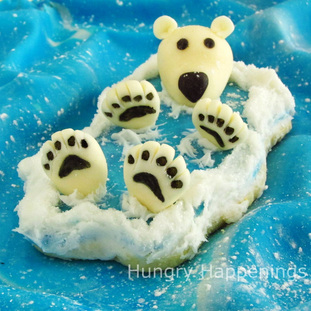 Back Float Bear Cookies