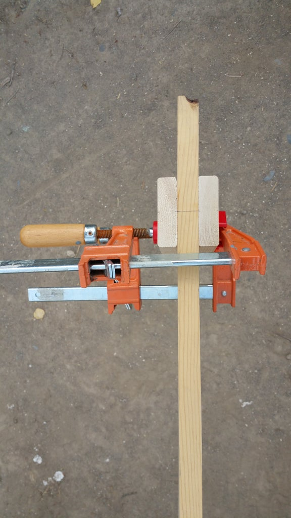 Clamping and Drilling for Shelves 2 and 3