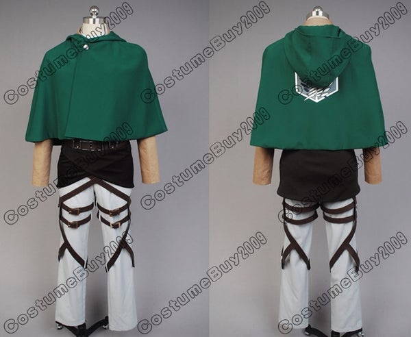 Survey Corps Attack on Titan Cosplay Costume